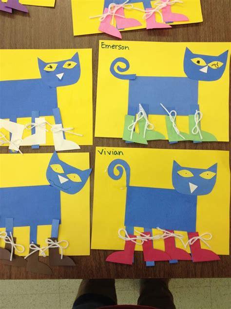 pete  cats preschool projects  preschool  pinterest