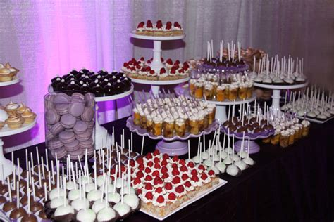 wedding dessert table the dotted apron