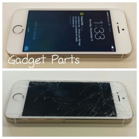 cracked iphone 5s iphone 5s gold cracked screen repair yelp