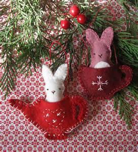 Felt Christmas Ornament Sewing Patterns