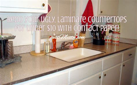 Redo Your Ugly, Laminate Countertops For Under $10 With