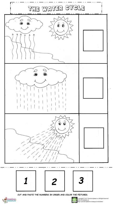 rain cycle worksheets printable worksheets