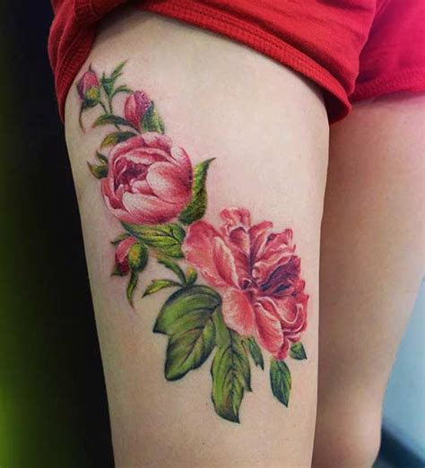 badass thigh tattoo ideas  women page