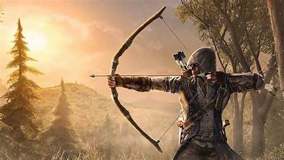 Archer Bow Creed Wallpapers Games Bows Clothes
