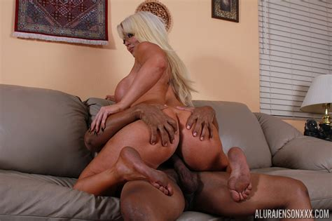 busty blonde alura jenson rides a big black cock