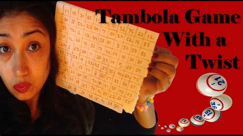 tambola game   twist kitty party games youtube