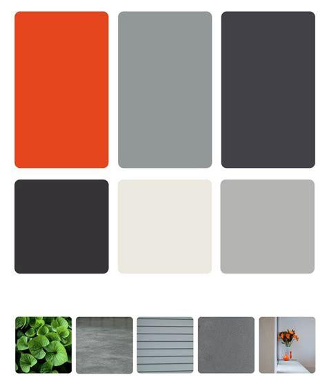 colour scheme idea nastrucian flower shale grey cool