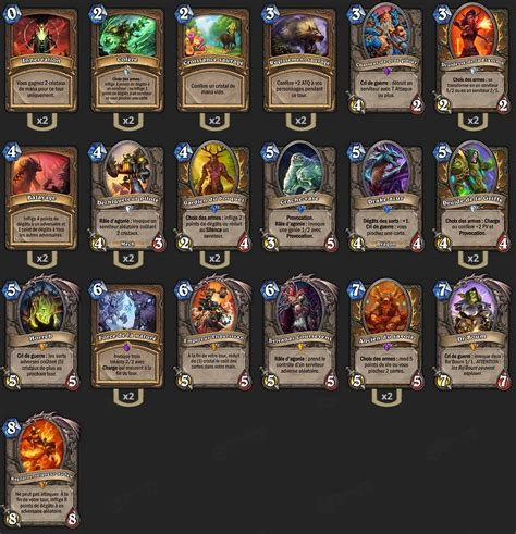 deck druide combo brm hearthstone heroes of warcraft
