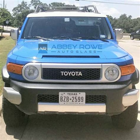Toyota Fj Replacement by Toyota Fj Cruiser Windshield Replacement Rowe