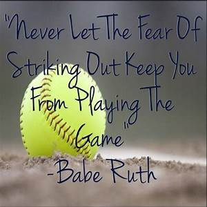 live dream softball. sports quotes on tumblr. softball ...
