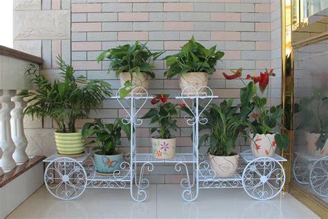 v 233 lo en m 233 tal porte pot de fleur en fer forg 233 pots 224 fleurs jardini 232 res id de produit