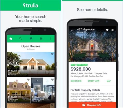 best real estate apps to sell or buy property 2017