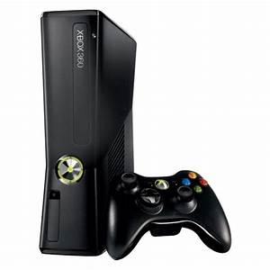 Microsoft Xbox 360 Slim - 250 GB - Black Console ...