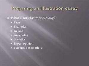illustration essay sample