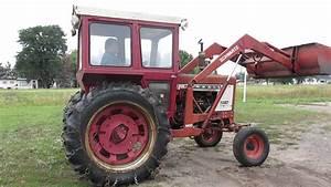 International 784with 2250 Loader Farmall Ih Tractors T