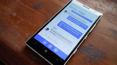 messenger for windows phone