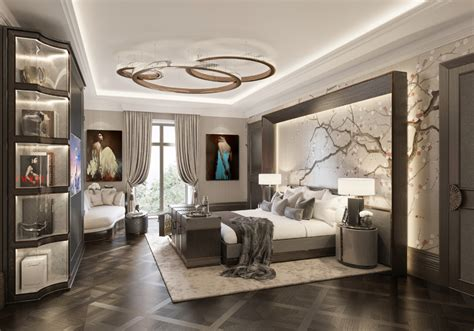 A Five Stars Modern Master Bedroom  Bedroom Decorating