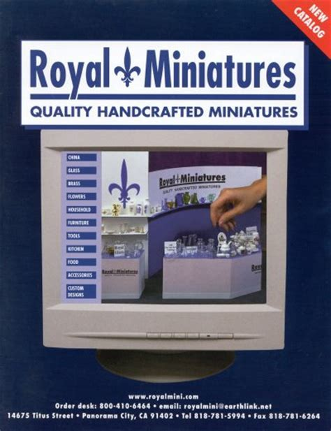 Royal Miniatures Dollhouse Catalog from Fingertip