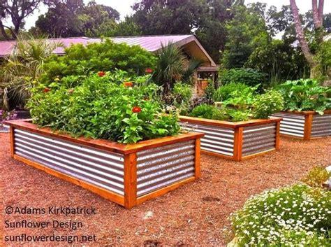 metal garden beds corrugated iron raised garden beds exhort me