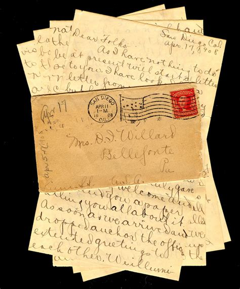smorgasbord hobby letter writing