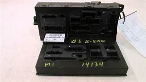 2003 Mercedes E500 Sam Relay Protection Fuse Box 211545
