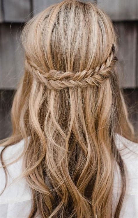 Bridesmaid Hairstyles For Hair Half Up by Half Up Half Braid Hairstyles Weddings Hair Hair