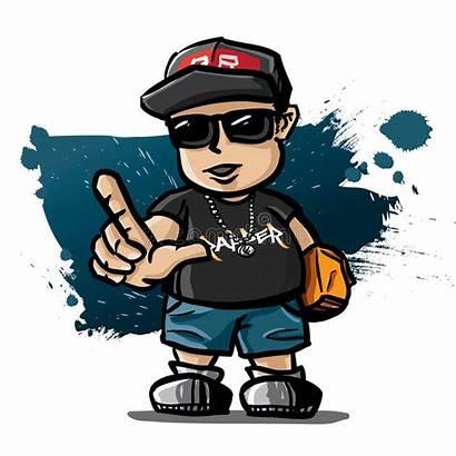 Rapper Hiphop Graffiti Panda Rap Gambar Clip
