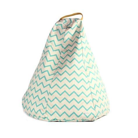 veilleuse chambre bébé pouf enfant nobodinoz zig zag vert