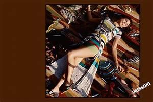 Irina Shayk Missoni 2017 Spring / Summer Campaign