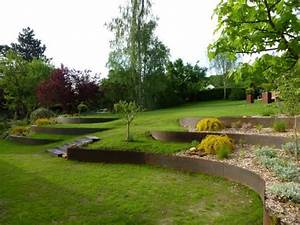 les 25 meilleures idees concernant amenagement de jardin With jardin en pente amenagement