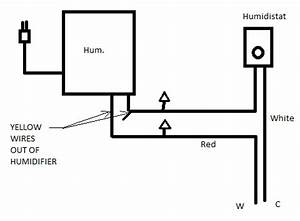 i want to connect my he360 humidifier directly to the circuit With humidity control switch circuit