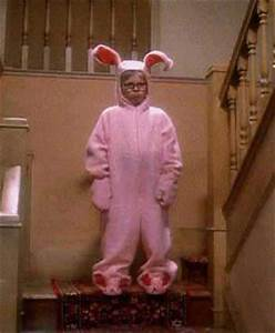 Ralphie s Bunny Suit Pajamas from Aunt Clara in A