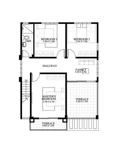 carlo    bedroom  story house floor plan