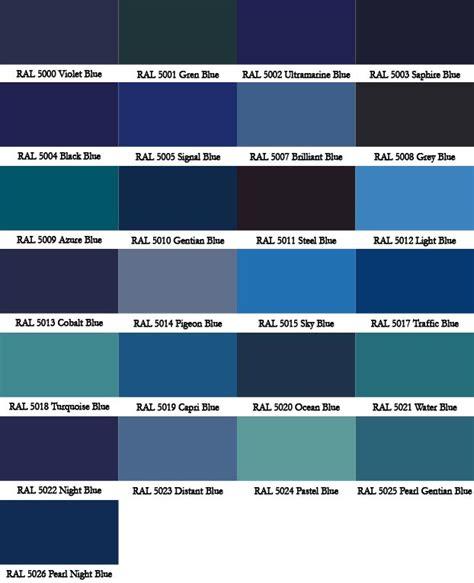 Dark Blue Paint Colors Ral Colour Chart Warwick Glass
