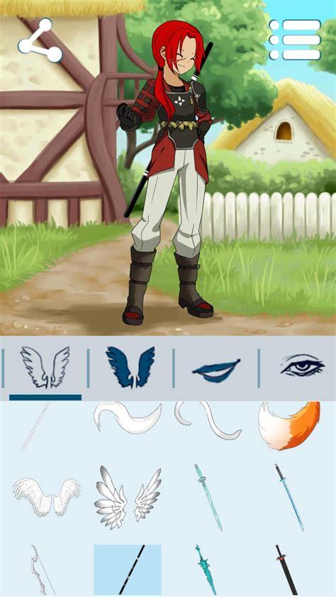 avatar maker anime boys  android apk