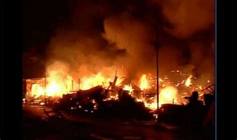 Eight Killed In Fire At Firecrackers Factory In Tamil Nadu