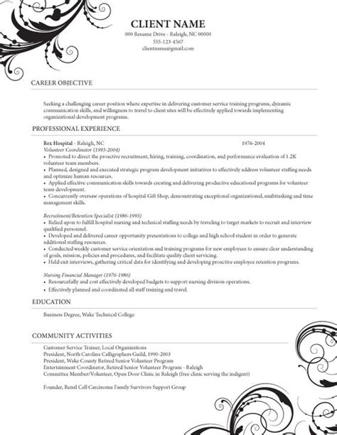 Caregiver Resume Template by Caregiver Professional Resume Templates Healthcare