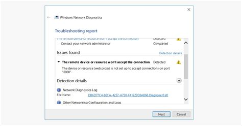 fixed  remote device  resource wont accept