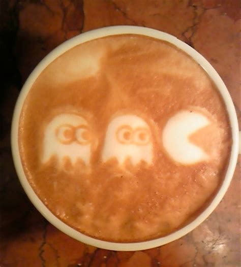 examples  awesome latte art