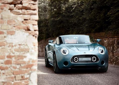 modern headlights for classic cars mini touring superleggera vision 187 retail design