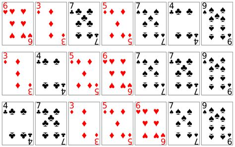4 Best Deck Of Playing Cards Printable
