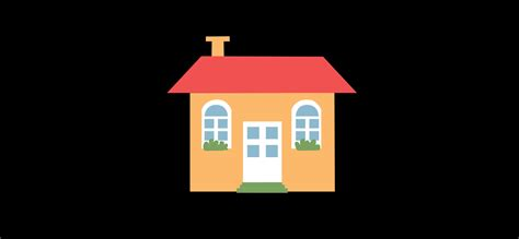 Cute Animated House Motion Background