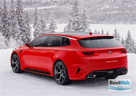 Not For The Us New Kia Optima Sportswagon Bestride