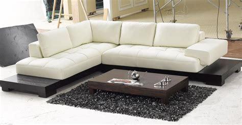 contemporary white leather sofa sale modern off white leather sectional sofa lsf leather