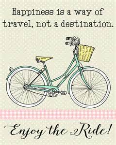 quot enjoy the ride quot bicycle printable happiness is