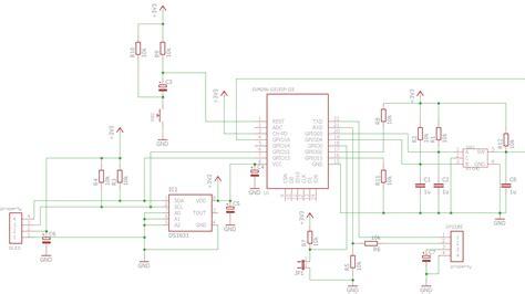 esp8266 thermostat esp 12e circuit my diy electronics projects