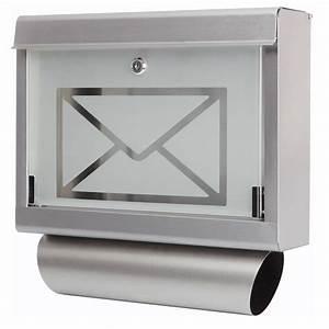 Briefkasten Edelstahl Design : briefkasten postkasten zeitungsfach nostalgie wandbriefkasten mit zeitungsrolle ebay ~ Markanthonyermac.com Haus und Dekorationen