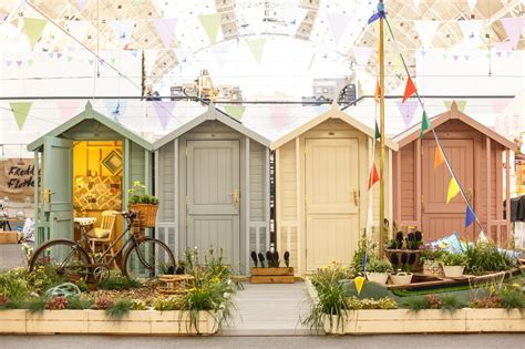 Win a beach hut inspired Southwold shed from the Posh Shed