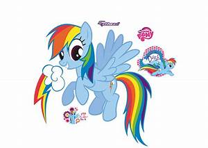 Rainbow Dash Wall Decal Shop Fathead® for My Little Pony