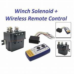Contactor Heavy Duty Solenoid Relay Wireless Remote
